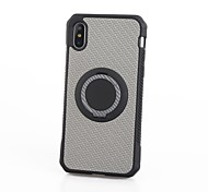 cheap -Case For Apple iPhone X iPhone 8 Shockproof Ring Holder Back Cover Camouflage Color Soft TPU for iPhone X iPhone 8 Plus iPhone 8 iPhone 7