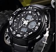 Недорогие -SHIFENMEI Муж. Цифровой Спортивные часы Японский Календарь Крупный циферблат Повседневные часы ЖК экран Plastic Группа Роскошь На каждый