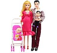 cheap -Fashion Doll Baby Boy / Baby Girl 12 inch Kid's Unisex Gift