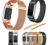 cheap -Watch Band for Fitbit Charge 2 Fitbit Milanese Loop Metal Stainless Steel Wrist Strap