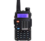 baratos -BAOFENG Rádio de Comunicação Portátil Dual Band 5 - 10 km 5 - 10 km Walkie Talkie Dois canais de rádio