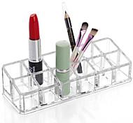 Недорогие -пластик Прямоугольная Новый дизайн Главная организация, 1шт Держатели / Хранение косметики / Органайзеры для стола