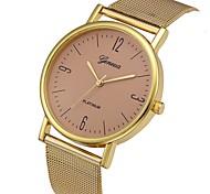 Недорогие -Муж. Нарядные часы Китайский Новый дизайн / Секундомер / Очаровательный сплав / Кожа Группа На каждый день / Мода Черный / Белый /