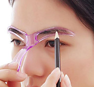cheap -10 pcs Eyebrow Stencil Plastics Eye / Face Portable / Universal Professional Level / Portable / Multi Function Make Up