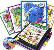 Недорогие -Игрушечные планшеты для рисования Магия воды Рисование книги Творчество Детские Подарок 1pcs