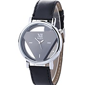 cheap -Men's Wrist Watch Chinese Large Dial / Casual Watch PU Band Skeleton / Fashion Black