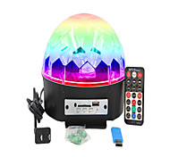cheap -1set 16W 9 LEDs Remote Control / RC LED Stage Light / Spot Light RGB AC 100-240V