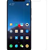 Недорогие -Защитная плёнка для экрана для XIAOMI Xiaomi Mi 8 Закаленное стекло / PET 1 ед. Протектор объектива спереди и камеры HD / Уровень защиты 9H / Взрывозащищенный