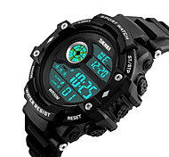 cheap -SKMEI®1280 Digital Watch Waterproof Sports Watch Long Standby Support/ Alarm Clock/ Calendar/ Dual Time Zones