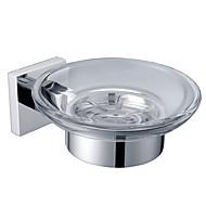 お買い得  -ソープディッシュ&ホルダー コンテンポラリー 真鍮 1個 - 浴室 / ホテルバス 壁式