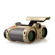 ราคาถูก -4 X 30 mm กล้องส่องทางไกล LED มุมมองกลางคืน พลาสติก
