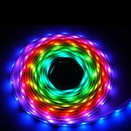 abordables Tiras de Luces LED-Tira LED con Control Remoto y Alimentación