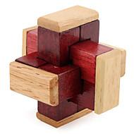お買い得  おもちゃ & ホビーアクセサリー-ウッドパズル 頭の体操 / 知恵の輪 プロフェッショナルレベル スピード 木製 クラシック・タイムレス 男の子 ギフト