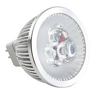 お買い得  LED スポットライト-6500lm GU5.3(MR16) LEDスポットライト MR16 3 LEDビーズ ハイパワーLED 調光可能 ナチュラルホワイト 12V / #
