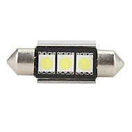 cheap LED Car Bulbs-36mm 5050 SMD LED 5500K White Light Bulb for Car
