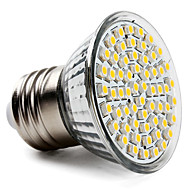 3.5 e26 / e27 led spotlight par38 60 smd 3528 300-350lm warm wit 2800k ac 220-240v