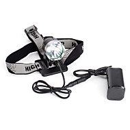 LED Flashlights / Torch Headlamps Headlight 1200 lm Mode Cree XM-L T6 for Camping/Hiking/Caving