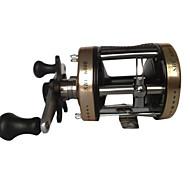お買い得  釣り用アクセサリー-リール トローリングリール 5.3:1 ギア比+2 ボールベアリング 右利きの 海釣り / 流し釣り / 船釣り