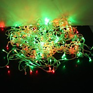 30m multi color 300-LED Christmas Fairy string valo 8 kipinöintiä tilaa (220v)