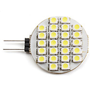2W G4 Focos LED 24 SMD 3528 110 lm Blanco Natural 6000K K DC 12 V
