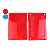 お買い得  MacBook 用ケース/バッグ/スリーブ-MacBook ケース 純色 / クリア プラスチック のために MacBook Pro 15インチ