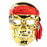 Skull Pirate galvanoplastia Mascarilla para Halloween Costume Party