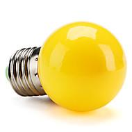 お買い得  LED ボール型電球-1個 1 W 80 lm E26 / E27 LEDボール型電球 G45 8 LEDビーズ SMD 2835 装飾用 イエロー 220-240 V / RoHs