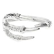 billige -z&X® sølvfarvede owlclaw armbånd