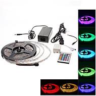 abordables EU Almacén-5 m Tiras LED Flexibles / Sets de Luces / Tiras de Luces RGB 300 LED 3528 SMD RGB Color variable 100-240 V