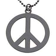 billige -Peace Symbol Necklace