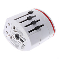 cheap Great Deals-World Travel Adapter with 2 USB Charger High quality, durable