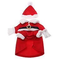Gatos / Perros Disfraces / Abrigos / Accesorios Rojo Ropa para Perro Invierno Cosplay / Navidad / Año Nuevo / Halloween