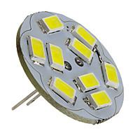 2 W 6000 lm G4 LED Spotlight 9 LED Beads SMD 5730 Natural White 12 V