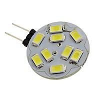 お買い得  LED スポットライト-1.5W 6000lm G4 LEDスポットライト 9 LEDビーズ SMD 5730 ナチュラルホワイト 12V