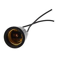abordables Bases de Lámpara-E27 Impermeable Enchufe de la luz El plastico