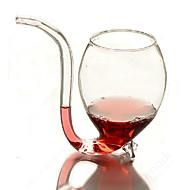 economico Grande promozione della famiglia-Vaso da 300ml per vino in vetro sipper con vasetto di vetro