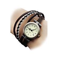Недорогие Женские часы-Жен. Наручные часы Часы-браслет Модные часы Японский Кварцевый Повседневные часы Натуральная кожа Группа Богемные Разноцветный