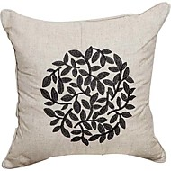 billige -Land Solid Embroidery Linen Dekorative Pillow Cover