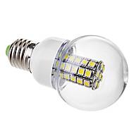 tanie Żarówki LED kulki-e26 / e27 żarówki kulkowe światłowodowe g60 47 smd 5050 530lm ciepłe białe zimno białe 6000k ac 220-240v