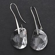 ieftine -Pentru femei Cristal Cercei Picătură femei Cristal cercei Bijuterii Pentru Petrecere Zilnic