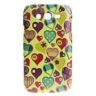 Недорогие Чехлы и кейсы для Galaxy Note-Сердце Pattern Серебристые Жесткий чехол для Samsung Galaxy I9080/I9082