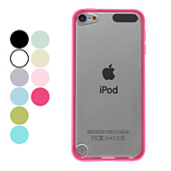 Custodia rigida trasparente opaca per iPod Touch 5 (colori assortiti)