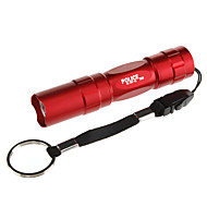 LED Flashlights / Torch LED 100 lm 1 Mode Tactical Everyday Use Black Brown Red Blue