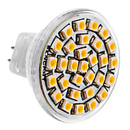 billiga -SENCART 1st 3 W LED-spotlights 3500 lm MR11 30 LED-pärlor SMD 3528 Varmvit 12 V