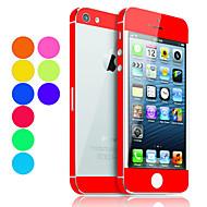 Недорогие Защитные плёнки для экрана iPhone-Защитная плёнка для экрана для Apple iPhone 6s / iPhone 6 / iPhone SE / 5s 1 ед. Защитная пленка на всё устройство