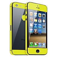 Недорогие Защитные плёнки для экрана iPhone-Защитная плёнка для экрана для Apple iPhone 6s Plus / iPhone 6 Plus / iPhone SE / 5s 1 ед. Защитная пленка на всё устройство