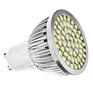 cheap -6500 lm GU10 LED Spotlight MR16 60 leds SMD 3528 Natural White AC 110-130V AC 220-240V