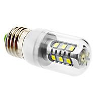 お買い得  LED コーン型電球-600 lm E26/E27 LEDコーン型電球 T LEDの SMD 5630 ナチュラルホワイト AC 220-240V