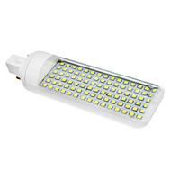 6W G24 Żarówki LED kukurydza T 90 SMD 3528 230-260 lm Zimna biel AC 85-265 V