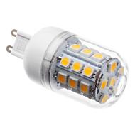 abordables Bombillas LED de Mazorca-3 W 3000 lm G9 Bombillas LED de Mazorca T 30 Cuentas LED SMD 5050 Blanco Cálido 220-240 V